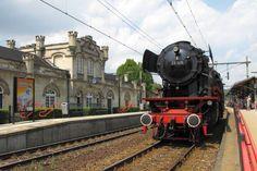 Station Valkenburg, Netherlands, met een baureihe 23