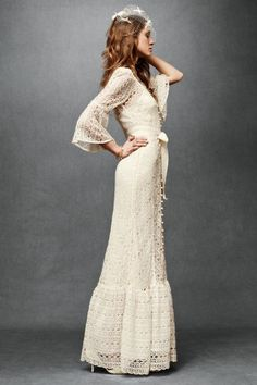 Wow, thanks for pointing out this amazing site! This bohemian lace dress with sleeves caught my eye. @Alsn Elt Elt Elt Elliott #dress