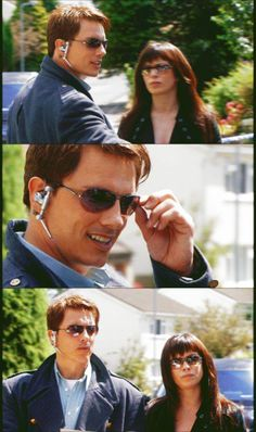 Torchwood- I was just watching this episode and laughing because the team's wearing matching glasses Twelfth Doctor, Doctor Who, Gareth David Lloyd, Malcolm Reynolds, Captain Jack Harkness, Black Comics, Bbc Tv Series, John Barrowman, Rory Williams