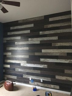 DIY Accent Wall? Yes, please!