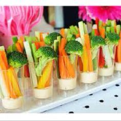 Veggie cup appetizers                                                                                                                                                                                 More