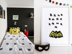 Tududu Batman! Alle ingrediënten voor een kamer met de superheld
