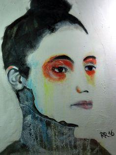 Vorlage ist Cordet. Bild ist 80 x 60 cm. Acryl und Öl