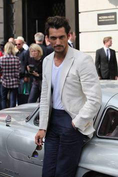 The man has got style....