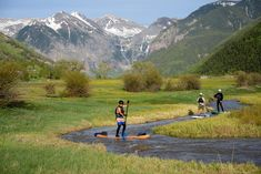 Paddling the Yampa River near Steamboat Springs Summer travel adventure at Colorado's ski resorts Colorado Ski Resorts, Telluride Colorado, Crested Butte Colorado, Moving To Colorado, Small Town America, Paddle Boarding, Summer Travel, Small Towns, Adventure Travel