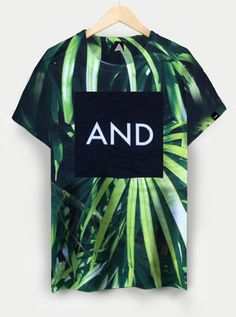 Tropical Palm AND Tee | ANDCLOTHING