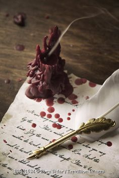 Fantasy | Magical | Fairytale | Surreal | Enchanting | Mystical | Myths | Legends | Stories | Dreams | Adventures | old-letter-with-quill-and-candle