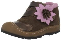 Jumping Jacks Flower Burst Ankle Bootie (Infant/toddler/Little Kid/Big Kid) Jumping Jacks. $43.50. She'll be the cutest kid around in this flower-detailed bootie. Hook and loop closure. Rubber sole. leather. Flexible dual-density outsole. Water- and stain-resistant leather upper with bumper toe for durability