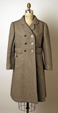 Valentino Wool Coat, 1968