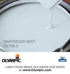 DARTMOOR MIST OL708.3 is a part of the blues collection by Olympic® Paint.