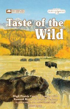 Taste of the Wild Dry Dog Food, Hi Prairie Canine Formula with Roasted Bison & Venison