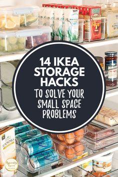Ikea Kitchen Storage, Ikea Storage, Storage Hacks, Storage Ideas, Home Organization Hacks, Organizing Tips, Kitchen Organization, Rv Hacks, Ikea Hacks