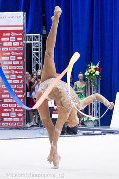 Alexandra SOLDATOVA (Russia) ~ Ribbon @ World Challenge Cup Minsk - 05-06/08/'17☘☘ Photographer Vk.com/vikapopova_rg (Russia).