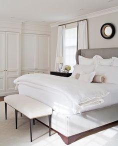 Lovely white bedlinen