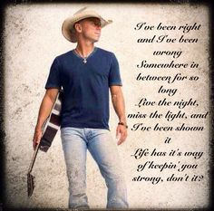 Picture edit by Male Country Singers, Country Music Artists, Country Music Stars, Country Song Lyrics, Country Songs, Music Lyrics, Good Music, Amazing Music, Kenney Chesney