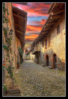 Il Ricetto di #Candelo - Borgo Medievale #Medioevo #Middleages #Biella #Piemonte