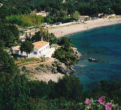 El Bulli restaurant. Near town of Roses, Catalonia, Spain. Overlooked Cala Montjoi.