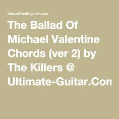 chord guitar valentine's day