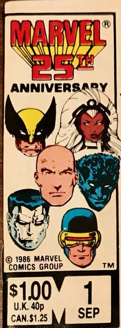 Classic X-Men 1986