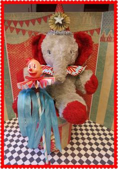 Zetta's Aprons: Summer Is A Circus...Up-cycled Stuffed Animals!