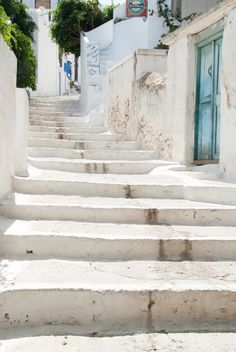 Amorgos Greece. Imagine all the people who have walked on these steps...or in this spot.