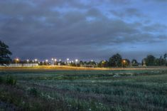 #evening #field #forest #grass #hdr #light #lights #nature #night #outdoors #outside #road #sweden #tree #trees