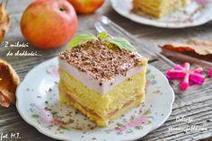 Z miłości do słodkości...: Delicja serowo-jabłkowa