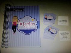 Agenda de pedidos + mini cartão de vista  + tag