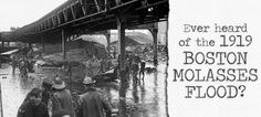 A 30-foot wave of molasses claimed the lives of 21 people and injured 150 more. #history