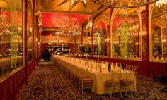 This is where i would've had my reception is i lived in NYC - The Russian Tea Room