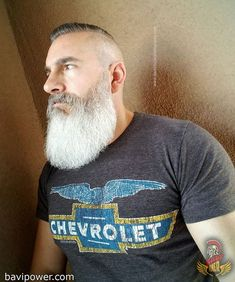 Viking Beard Tips and Styles (Part 2 of Like the hairstyle, the Viking beard styles have become a great distinction of the Vikings. In the last writing (Viking Beard Tips and Styles Part BaviPo Viking Beard Styles, Beard Styles For Men, Hair And Beard Styles, Grey Beards, Long Beards, Older Men Haircuts, Beard Images, Beard Cuts, Beard Game