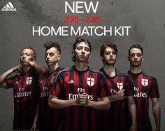 camisetas Milan primera 2015-2016