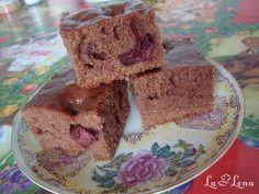 Prăjitură aromată cu fructe, de post - Retetele utilizatorilor LaLena.ro Gem, Deserts, Muffin, Breakfast, Alternative, Morning Coffee, Jewels, Postres, Muffins