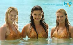 Aussie Mermaid Girls from H2O TV Show.