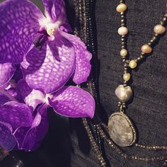 Bloom in Winter Fancy, Pearl Necklace, Winter Fashion, Bloom, Glamour, Pearls, Instagram Posts, Flowers, Design