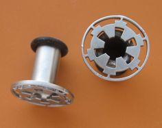 PLUGS!  Star Wars Imperial or Rebel Insignia Plug Gauge Earrings