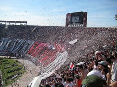 River Plate stadium... One day I'll be in that crowd. One day...