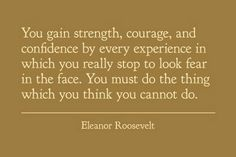 "eleanor roosevelt quotes | Natural Beauty: ""Quote"""