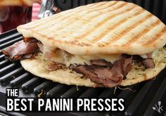 Roast Beef and Cheese Panini Panini Sandwiches, Grilled Sandwich, Grilling Recipes, Cooking Recipes, Panini Press, Quick Easy Meals, Frugal Meals, Roast Beef, Food Preparation