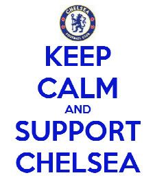 me support chelsea.