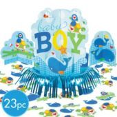 Ahoy Baby Boy Table Cover - Party City