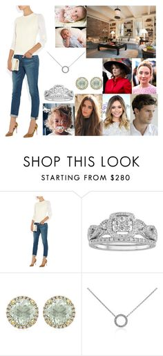 """""""Introducing Eugenie, Millicent, and Alexandra to Erik and Nadia"""" by hrh-amelia-of-croatia ❤ liked on Polyvore featuring Olsen, Nicole, Nicholas Kirkwood, Modern Bride, Kiki mcdonough and Blue Nile"""