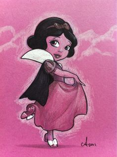 Snow White by Amy Mebberson, via Flickr