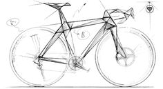 Bicycle ID sketch. bici-contacto