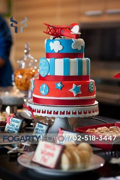 boys airplane party | Airplane Themed 1st Birthday Party | Las Vegas Party Planner – Las ...