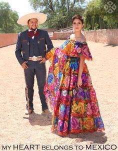 #CHARRO costume & Chiapas Dress!! #Handmade    #mexicanclothing  Vestido Tradicional Chiapaneco, Bordado a mano! Hecho en México a mano!