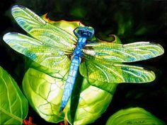 Sheryl Sawchuk oil (could be watercolor)