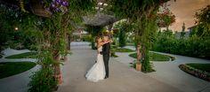 Brookside Gardens Event Center Wedding Arbor at Sunset