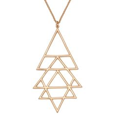 Gold Yantra Necklace
