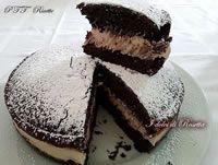 Torta al cioccolato con crema al mascarpone   Ricetta